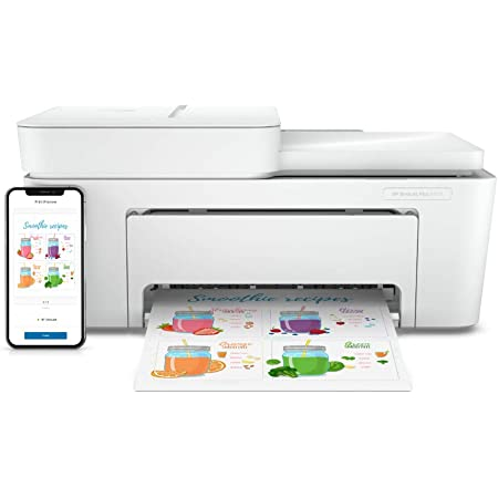 Hp Deskjet Plus 4120 Multifunktionsdrucker Inklusive 6 Computer Zubehör