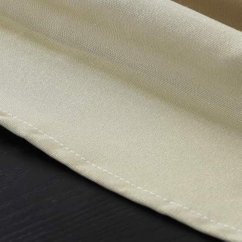 HEIFEN Nappe 150 × 230cm en Coton Et Lin De Couleur Unie Rectangulaire Convient pour Banquet De Mariage Fête Design Intégré sans Couture