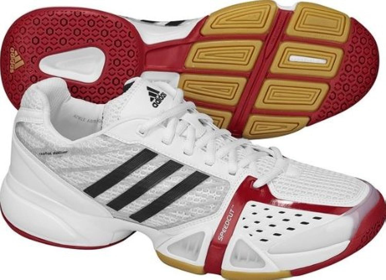 Adidas Indoorschuh VOLLEIO (running Weiß schwarz un