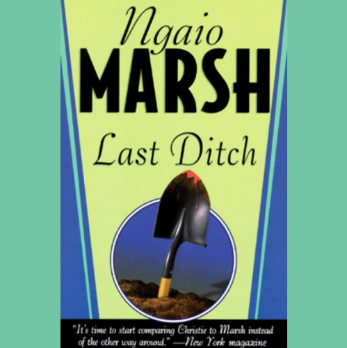 Last Ditch audiobook cover art
