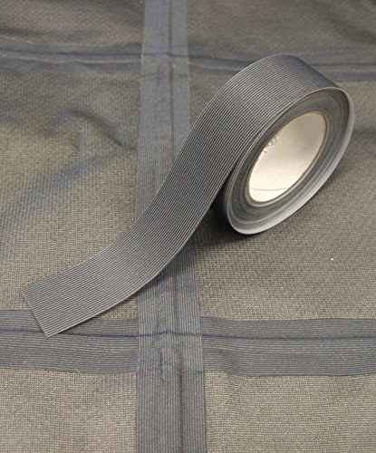 Seam Sealing Tape T-2000X – Hot Melt 3-Layer Waterproof – 5 Metres - Iron On (Dark Grey, 22mm Width)