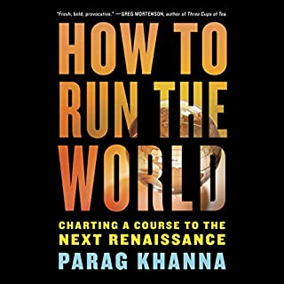 How to Run the World audiobook cover art