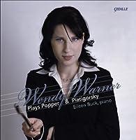 ポッパー:チェロとピアノのための組曲/3つの小品/森の中で/ピアティゴルスキー:パガニーニの主題による変奏曲(ワーナー/バック)