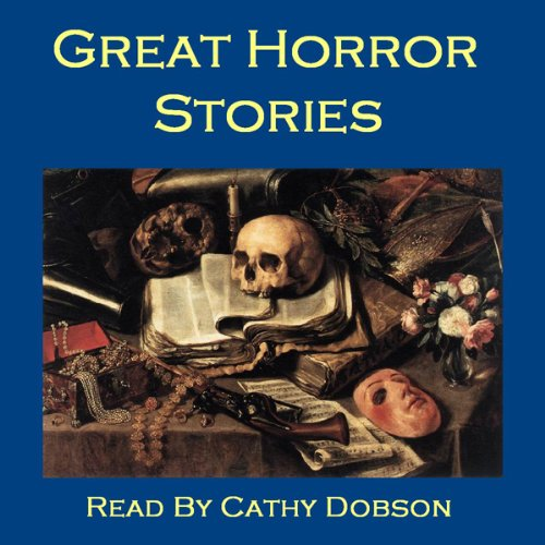 Great Horror Stories     Ghost Tales, Horror Stories, and Supernatural Legends               By:                                                                                                                                 Arthur Conan Doyle,                                                                                        Robert Louis Stevenson,                                                                                        Edith Nesbit,                   and others                          Narrated by:                                                                                                                                 Cathy Dobson                      Length: 15 hrs and 14 mins     11 ratings     Overall 3.2
