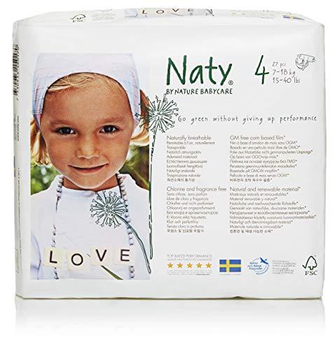 Naty by Nature Babycare Ökowindeln Größe 4