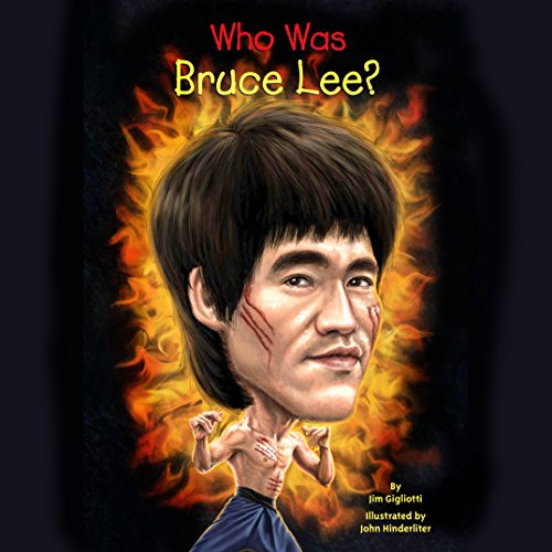 Who Was Bruce Lee? audiobook cover art
