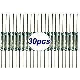 Gebildet 30pcs Interruttore reed, Normalmente Aperto (N/O) Interruttore Magnetico a Induzione Elettromagnetica, Contatto Reed (2mm x 14mm)