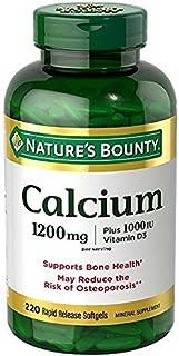 Nature's Bounty Absorbable Calcium 1200mg, Plus 1000IU Vitamin D3