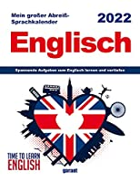 Abreisskalender Englisch 2022