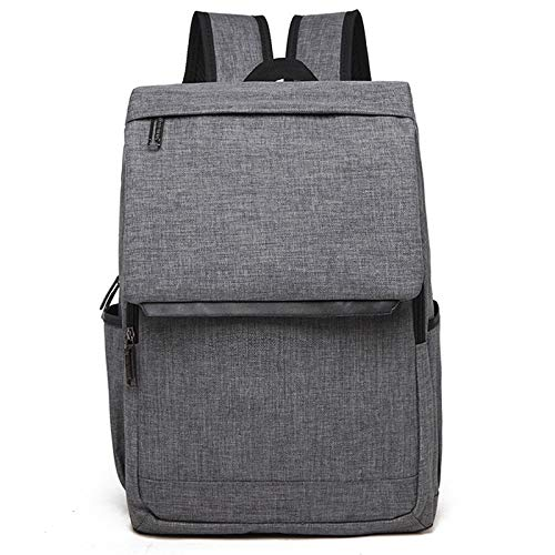 HUIFANGBU Universal Multi-Function Canvas Laptop Computer Shoulders Bag Leisurely Backpack Students Bag, Size: 42x30x12cm, For 15.6 inch and Below Macbook, Samsung, Lenovo, Sony, DELL Alienware, CHUWI