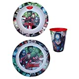 REAL TRADE Avengers Superheroes 2 Jelly Set + Vidrio para niños -AVENGERS / 3PZ