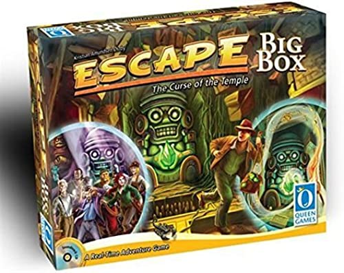 Escape  The Curse of the Temple Big Box by Queen Games