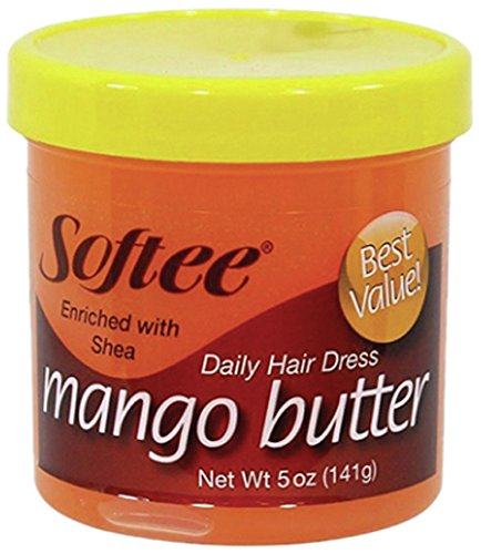 Softee Mango Butter Daily Hair Dress, 5 Ounce