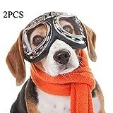 XDYFF UV Sonnenbrillen Goggles Hundebrillen Sonnenschutz für UV-Sonnenbrillen Wasserdichter Schutz