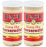 2. Beaver Horseradish Extra Hot 4oz (Pack of 2)