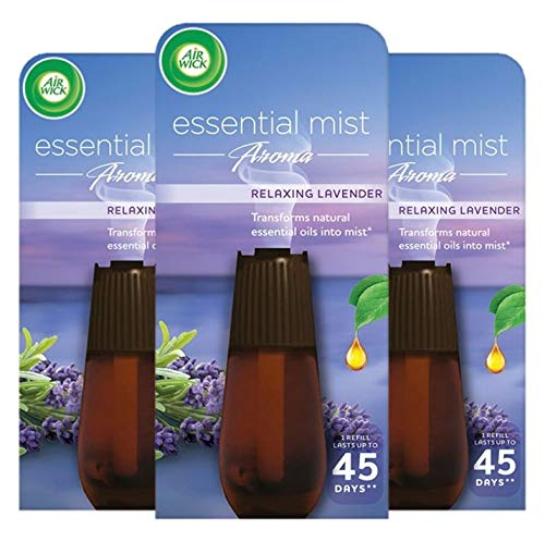 Air Wick Essential Mist Aroma 20ml, Relaxing Lavender, Pack of 3