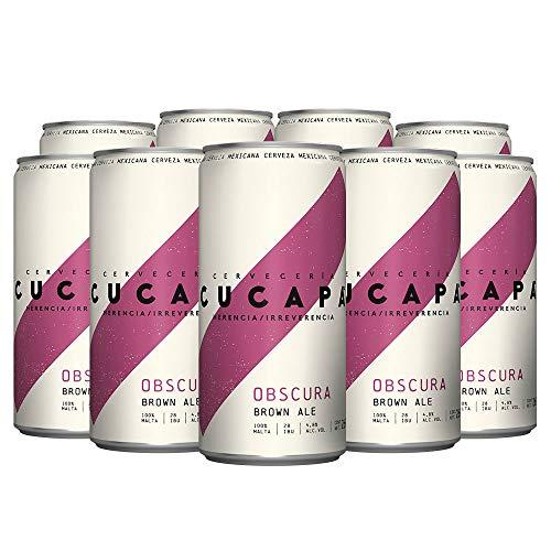 Cerveza Herencia Cucapa Oscura, 24 latas de 269 ml c/u