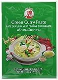 Pasta de curry verde de la marca COCK de 12 paquetes [12x 50 g] Pasta de curry verde