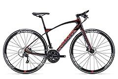 Giant Fastroad Comax 28 inch Fitnessbike Zwart/Rood/Grijs (2016), 45*