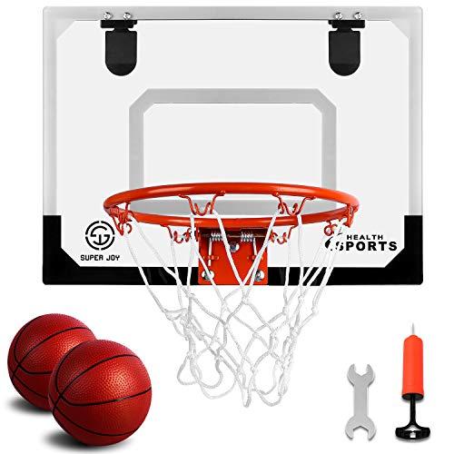 Pro Indoor Mini Basketball Hoop Over The Door - Wall...
