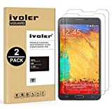 ivoler [Pack de 2] Verre Trempé Compatible avec Samsung Galaxy Note 3 [Garantie à Vie], Film...