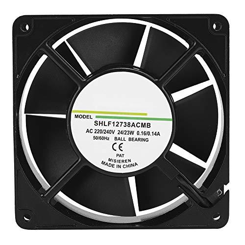 Ventilador de enfriamiento, Ventilador de disipador de Calor de enfriamiento Disipación de Calor rápida y silenciosa, Ventilador de Caja de PC, para Las Cajas de su computadora/Enfriamiento de