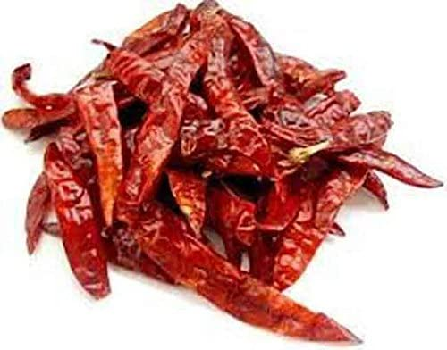 100g | Pure RED Whole Dried Chillies **Free UK Post** Whole RED Chilli Dry Chilly Chilli Dried Whole MIRCH : Amazon.co.uk: Grocery