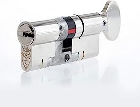 Yale P-YS3-3535NT Anti-Snap 3 Star Euro Tumbturn Cilinder, Hoge Veiligheid, 35:35 (70mm), Nikkel Afwerking