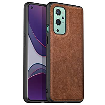 Latagui Compatible with Google Pixel 4A 5G Case [Drop-Proof Protection] [Anti-Slip Surface] Soft and Slim Full Cover Leather Case for Google Pixel 4A 5G  Brown