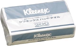 クレシア クリネックス ハンドタオル ハードタイプ200 【36221】 1ケース(200枚×30パック)