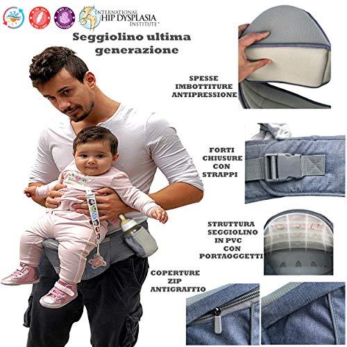 Ergonomische Topbasic Babytrage Neugeborene 0-36 Monate Neue Generation Universal Atmungsaktive Stützt Rücken Und Nacken Tragetasche Für Babys Und Kinder Von 0 Bis 3 Jahre (von 3,5 Bis 25 Kg)