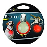 Nite Ize SLG-03-10 SpotLit Clip-on LED Go Anywhere Light, Red