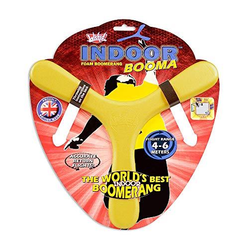 Toy Partner- Wicked Indoor booma, Color Rojo, Amarillo y Azul (94001)