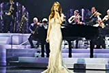 Poster Celine Dion By Piano, 61 x 91 cm