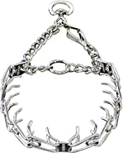 Herm Sprenger Pet Supply Imports Chrome Plated Training Collar with Quick Release Snap for Dogs
