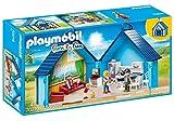 Playmobil - 70219 - Family Fun - Bungalow des Vacances au Fun Park Transportable