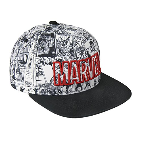 Marvel Herren Hut, Verstellbare Kappe für Erwachsene, Leicht Atmungsaktiv, Cosplay Comic, Unisex Avengers Baseball Kappe, Geschenk für Männer und Jugendliche!