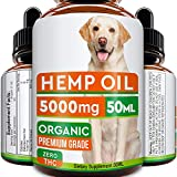 GOODGROWLIES Hemp Oil for Dogs and Cats - 5000MG - 50ml - Hemp Extract Made in UK - 100% Natural Hemp Oil for...