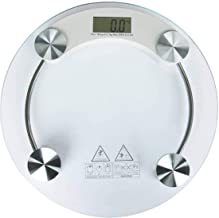 Gesto 8mm Electronic Thick Tempered Glass & LCD Display Electronic Digital Personal Bathroom Health Body Weight Weighing Scale, Weight Scale Digital, Digital Weighing Machine For Human.