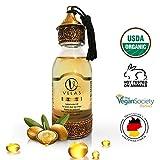 Arganöl Bio Haaröl OHNE Silikon für junge Haut glatte Haare&Anti-Aging Fair Trade 125 ml kaltgepresst Velas Argan oil Deutsches Unternehmen