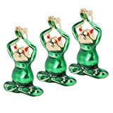 Kadimendium Broche de Rana Broche Decoración Broche de aleación Dibujos Animados Lindo Ropa Casual Decoración Accesorios de Ropa(Green)