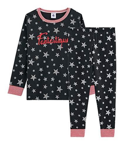 Petit Bateau Jungen Pyjama_5251801 Zweiteiliger Schlafanzug, Mehrfarbig (Capecod/Argent 01), 152 (Herstellergröße: 12ans/152cm)