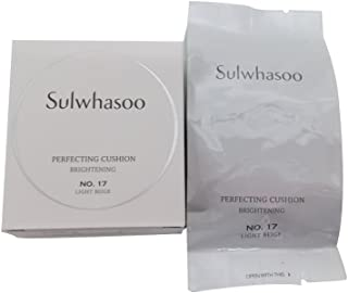 Sulwhasoo Perfecting Cushion Brightening #17 Light Beige (Refill Only) 15g