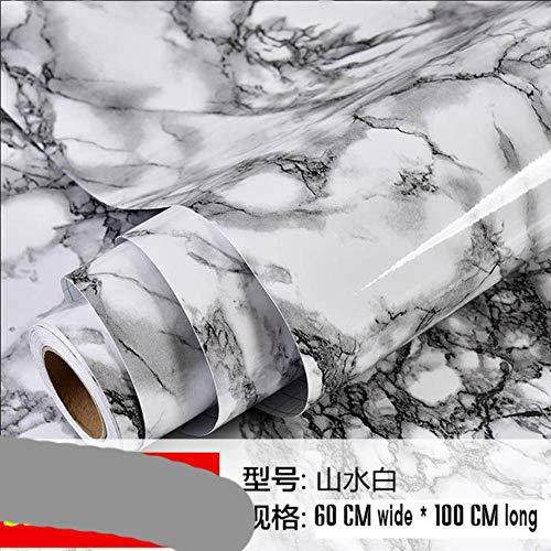Shengdiao Marmeren Renovatie Waterdichte Zelfklevende Stickers PVC Behang Wandstok Ambry mesa Tafelmeubelen No 12