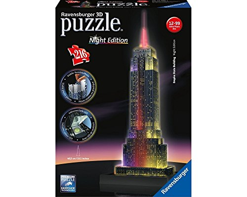 Ravensburger 3D Puzzle - Empire State Building Night Edition