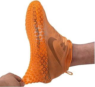 Couvre-Chaussures, Couvre-Chaussures Pliables En Silicone Avec Lanière, Couvre-Bottes Réutilisable Antidérapant, Imperméab...