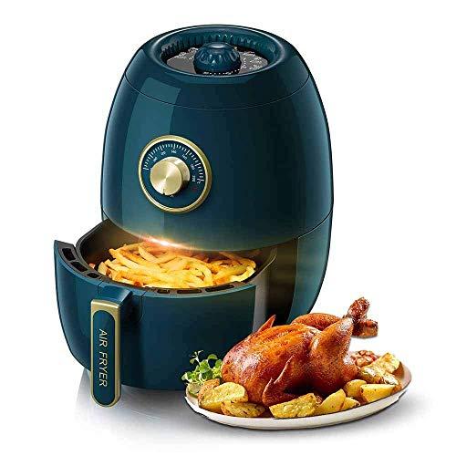 SHBV Friggitrice ad Aria Senza Olio 3L Mini Forno con friggitrice a trucioli con più preimpostazioni di Cottura Cottura al Forno e griglia Timer da 30 Minuti per Gli osservatori del Peso cuci