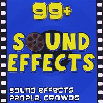 Sound Effects. People, Walla, Crowds