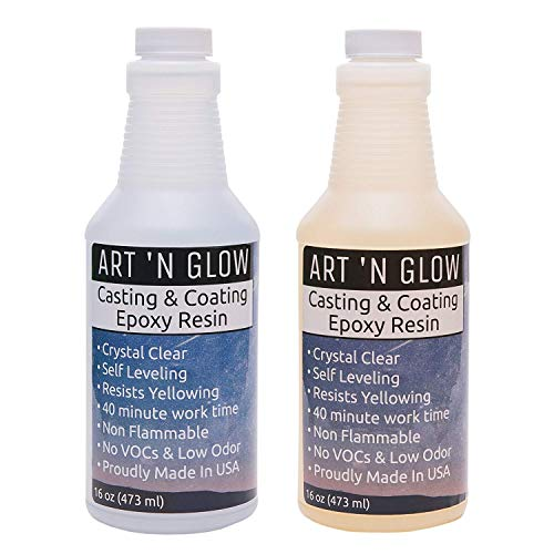 Clear Casting and Coating Epoxy Resin - 32 Ounce Kit