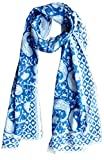 Scarfs for women 100% Pure cotton indian traditional design hand block printed mini stall for girls 70x20 inch from Rastogi handicrafts (Scarfs-14)